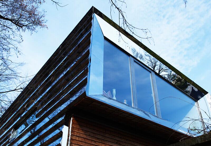 Umbau des Atelierhauses in Berlin Treptow durch Dieringer Blechbearbeitung