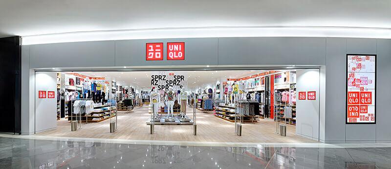 Eine Storefront in Frankreich